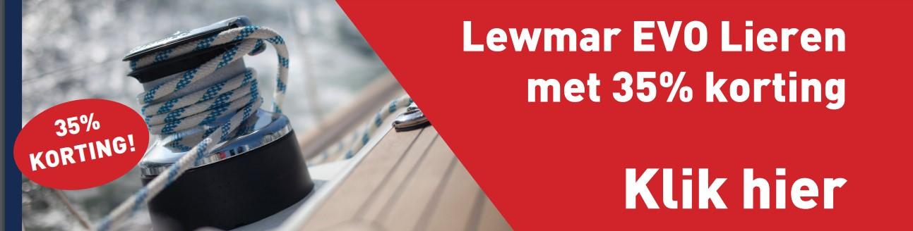 Lewmar selftailing lieren EVO